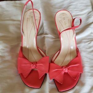 Kate spade heeled sandal 9